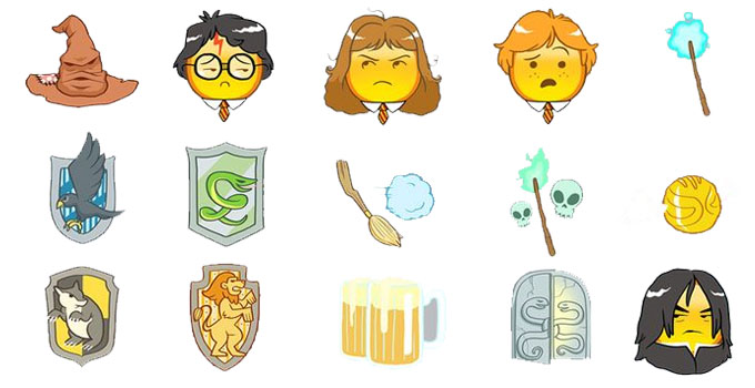harry potter emoji