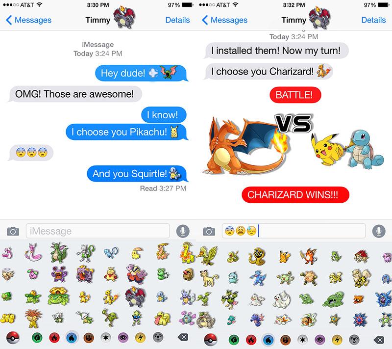 Pokemon Emoji Keyboard - Download Emoji