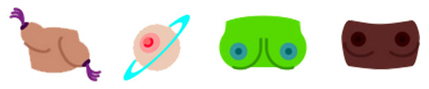 boos emojis for all the boobs lovers