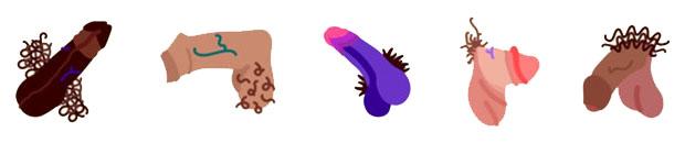 dick penis emoji