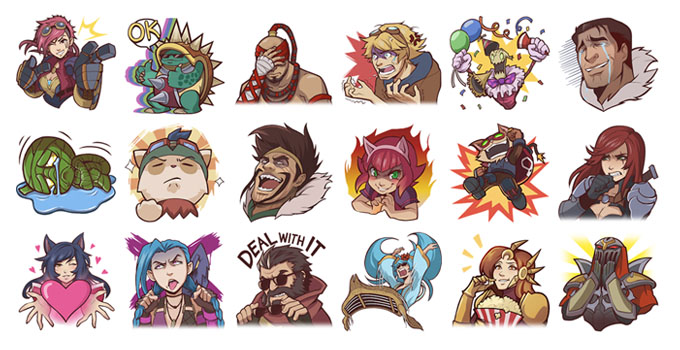 league of legends emoji keyboard