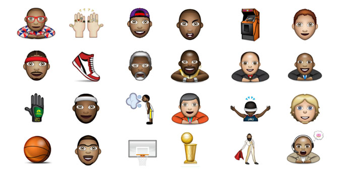 nba emoji keyboard
