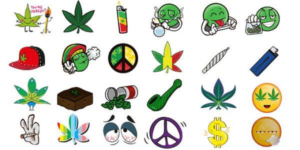 weed-marijuana-leaf-smoking-emoji