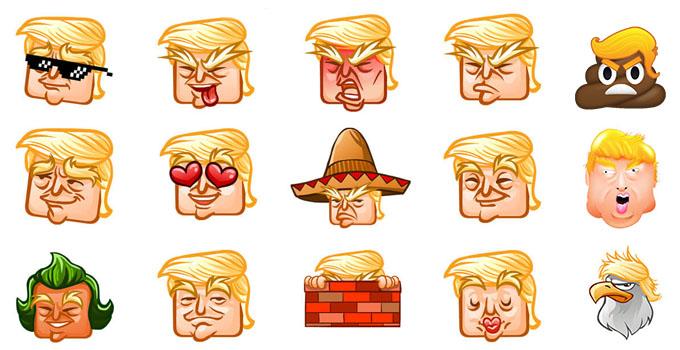 donald trump president emoji