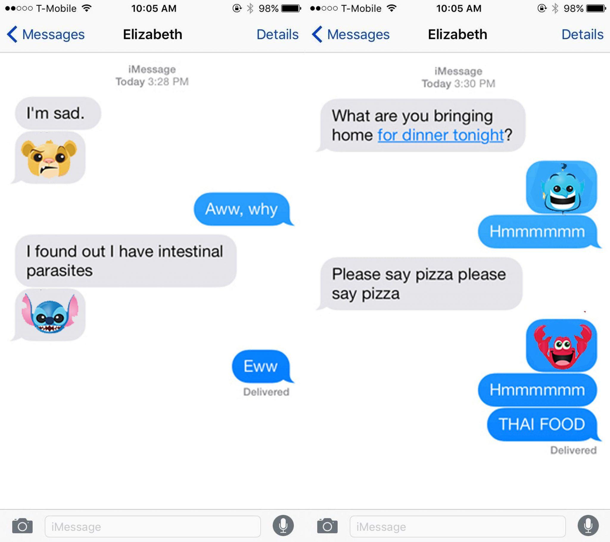 disney emoji keyboard ios android
