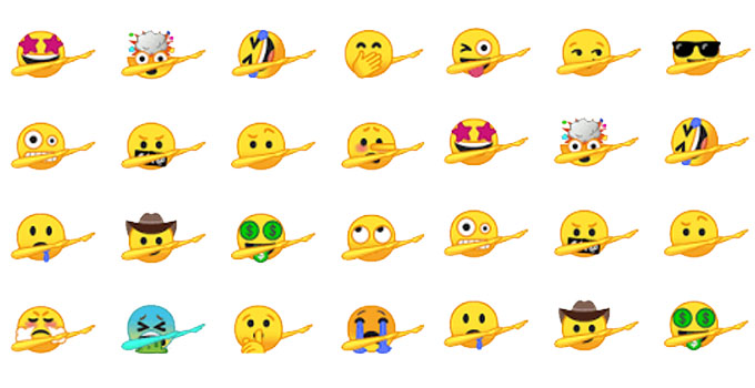 dab emoji keyboard iphone android