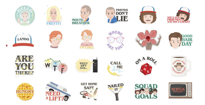 Stranger Things Emoji Keyboard - Download Emoji