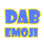 dab emoji keyboard logo ios android download emoji